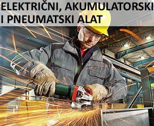 III Električni, akumulatorski i pneumatski alat