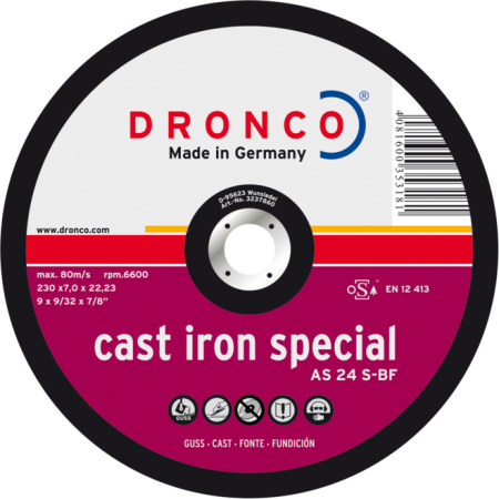 Brusna ploča AS 24 S CAST IRON SPECIAL