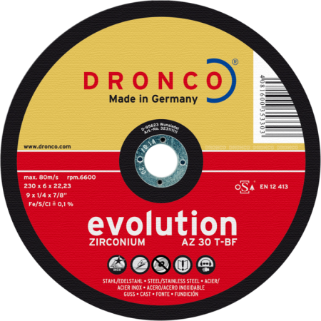 Brusna ploča AZ 30 T EVOLUTION