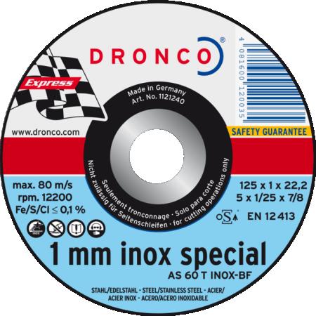 Rezna ploča AS 60 T INOX SPECIAL